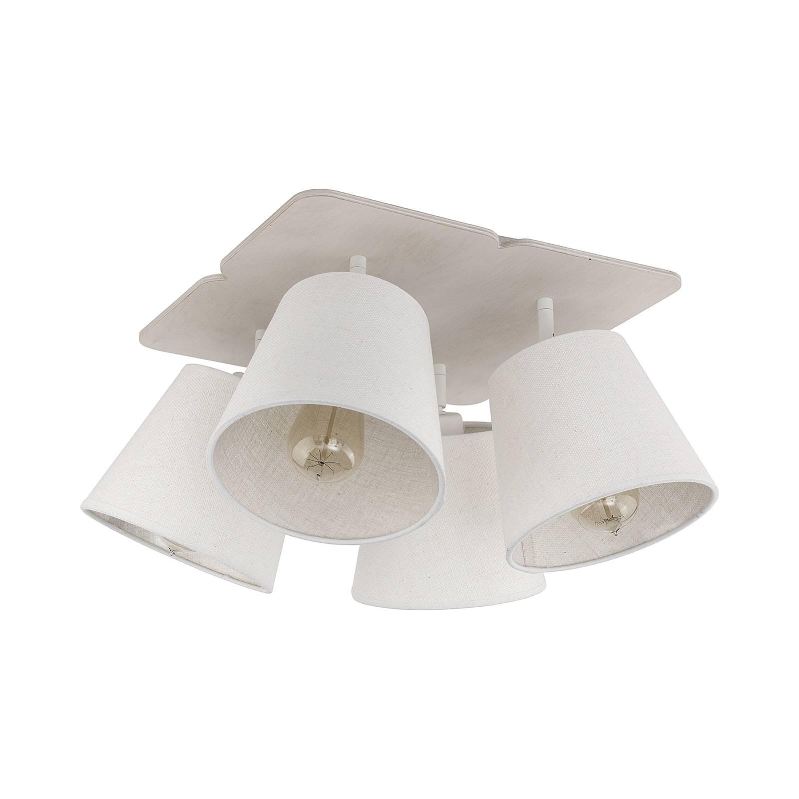 Kattovalaisin Awinion, 4-lamppuinen, valkoinen
