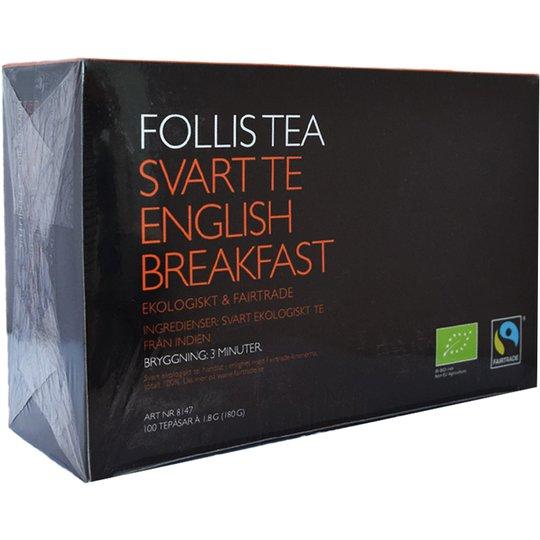 """Svart Te """"English Breakfast"""" 100-pack - 74% rabatt"""