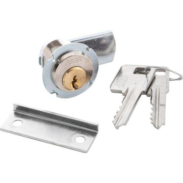ASSA 8450 Skaplås GDS/SB, 2 nøkler
