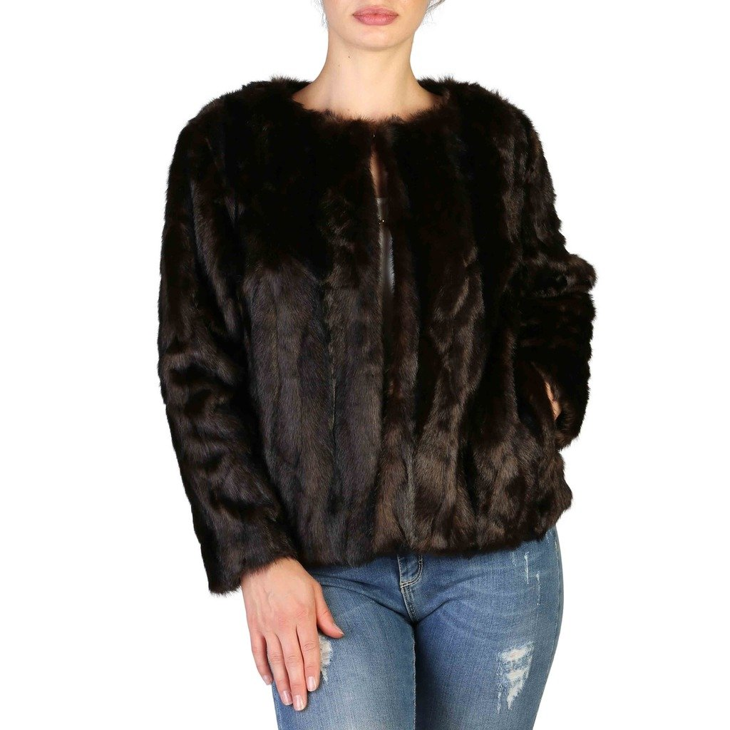Yes Zee Women's Jacket Brown G009_E600 - brown XS
