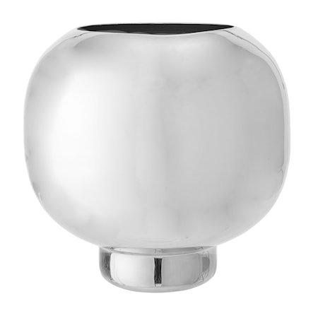 Vase Silver Alu Ø24x25 cm