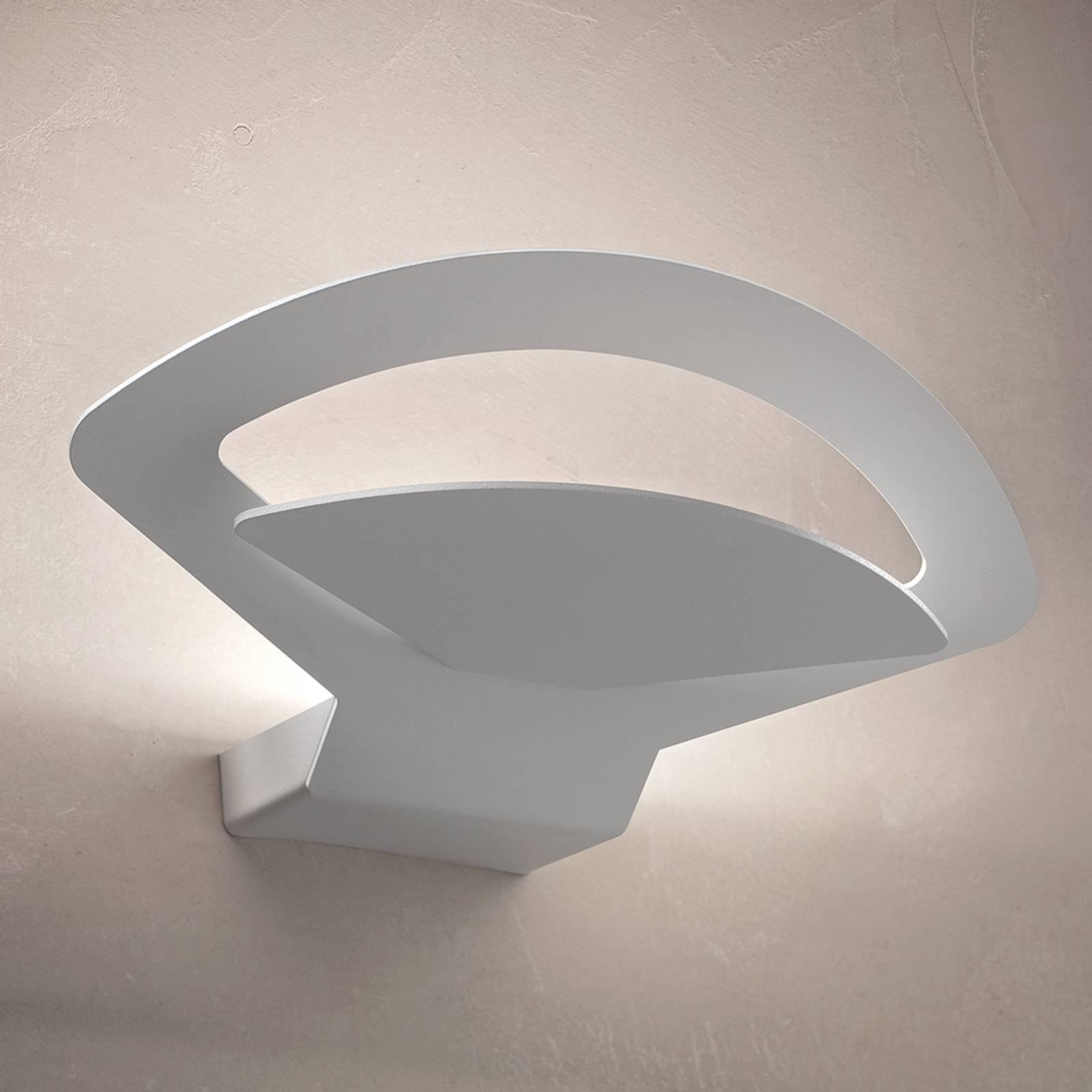 Kaunis LED-seinävalaisin Loto – valkoinen