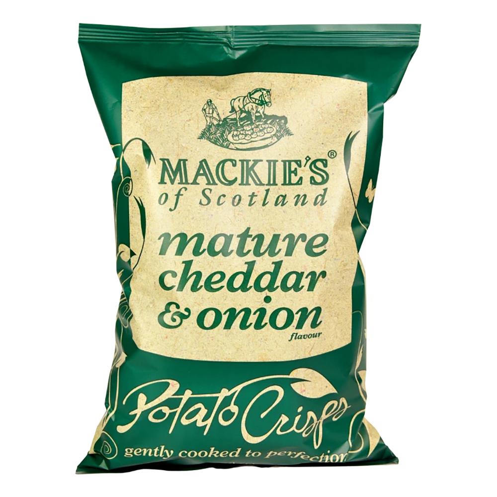 Mackie's Mature Cheddar & Onion - 150 gram