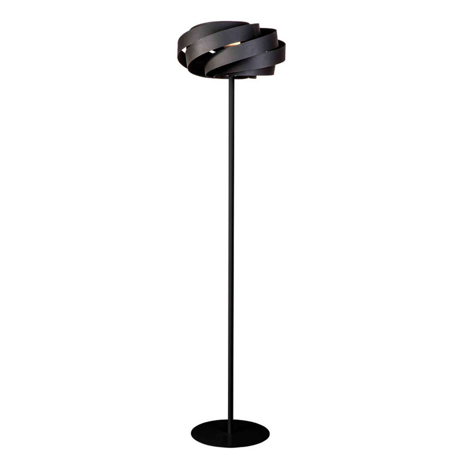 Vento gulvlampe i svart
