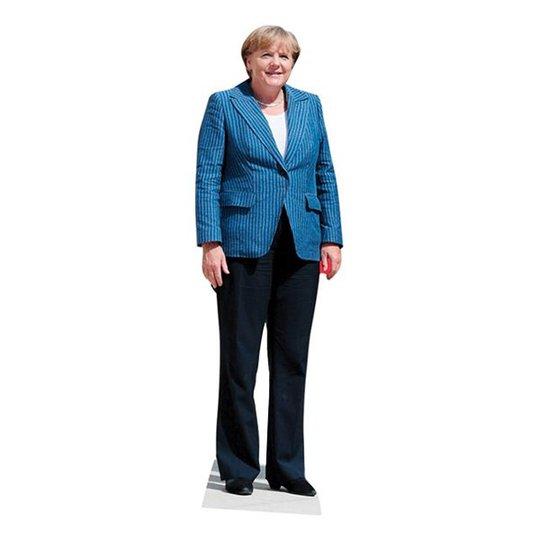 Angela Merkel Kartongfigur