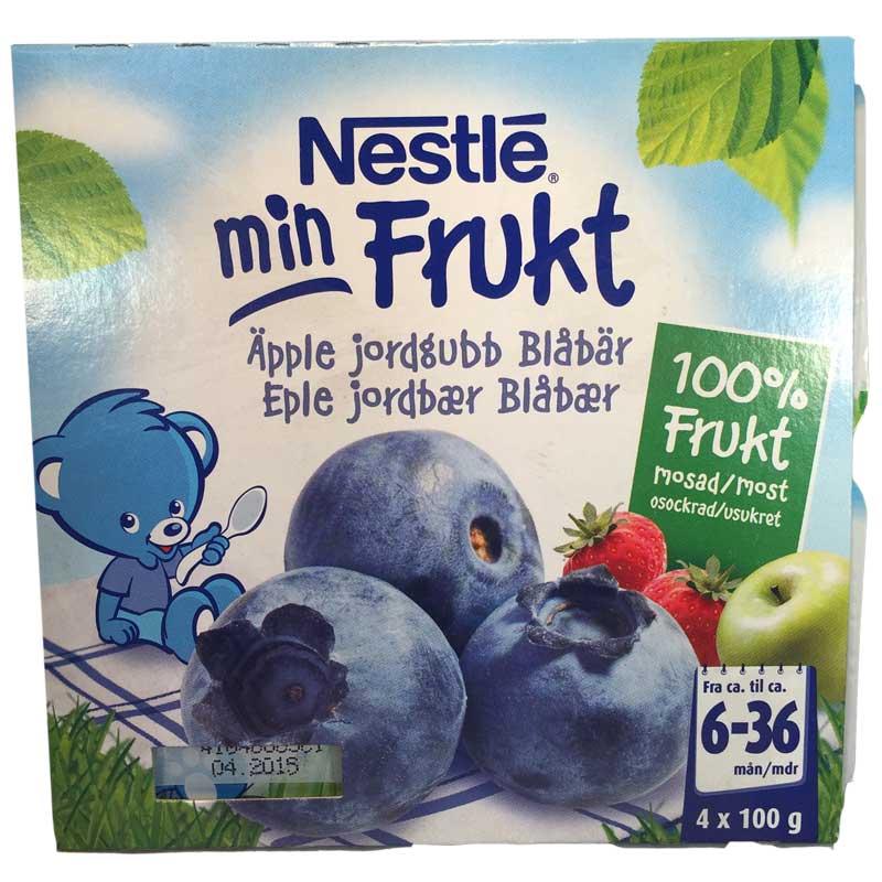 Min Frukt äpple, jordgubb & blåbär - 40% rabatt
