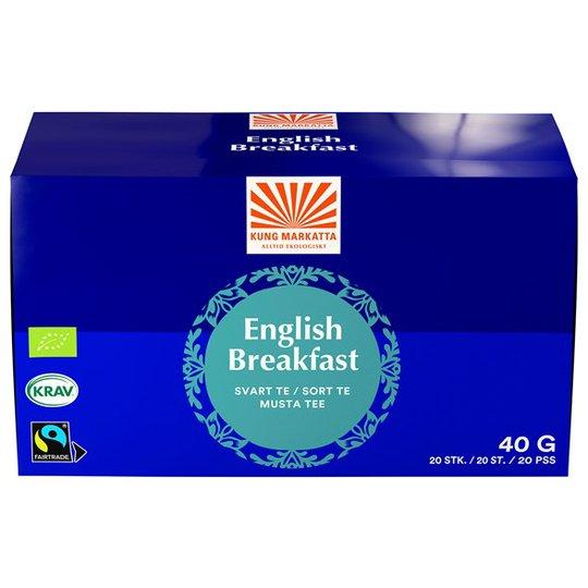 Kung Markatta English Breakfast, 20 påsar