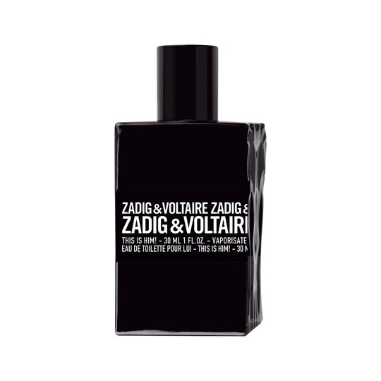 ZADIG & VOLTAIRE This is him! EdT, 30 ml Zadig & Voltaire Hajuvedet