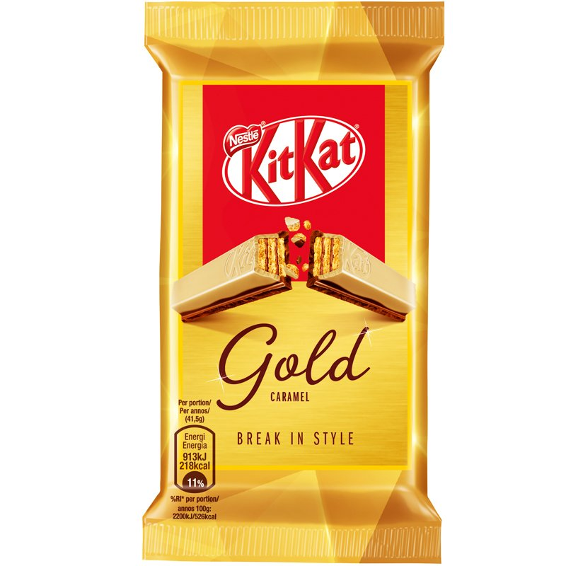 Kit Kat Gold - 11% rabatt