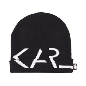 Karl Lagerfeld Kids Karl Logo Mössa Svart 52 (4-6 years)