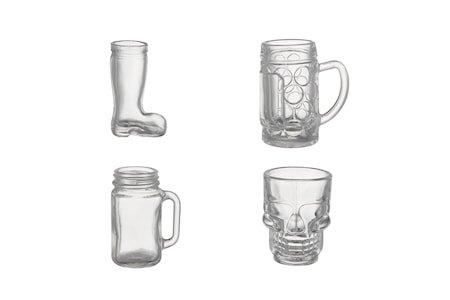 Shon Shotglass 4-pakning 34–51 ml