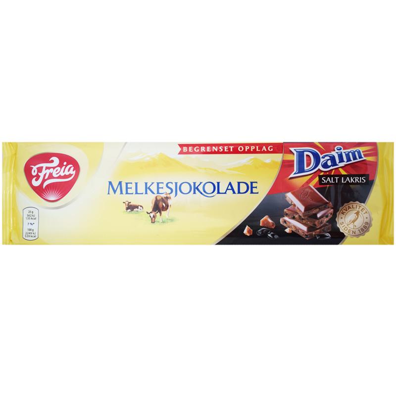 "Mjölkchoklad ""Daim Saltlakrits"" 200g - 67% rabatt"