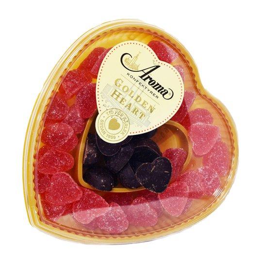 Godisask Gelé- & Chokladhjärtan - 23% rabatt