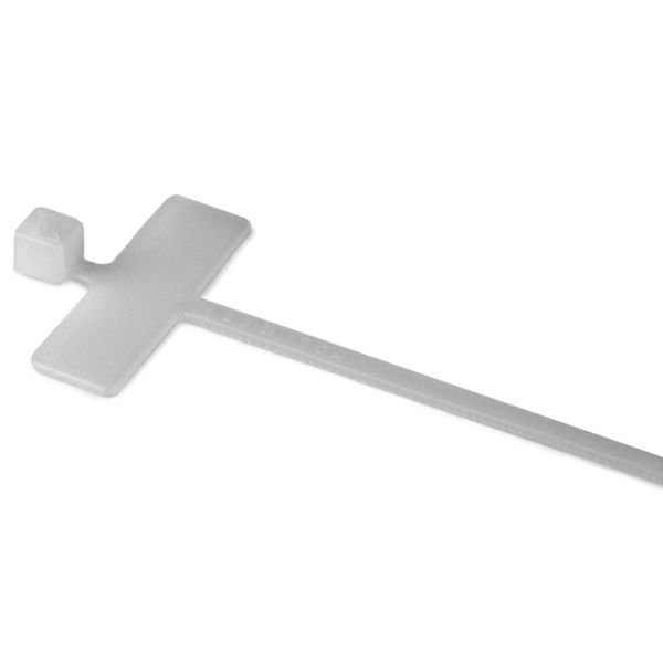 Hellermann Tyton IT18R Merkebånd med merkeplate, 2,5 x 100 mm, 100 stk.