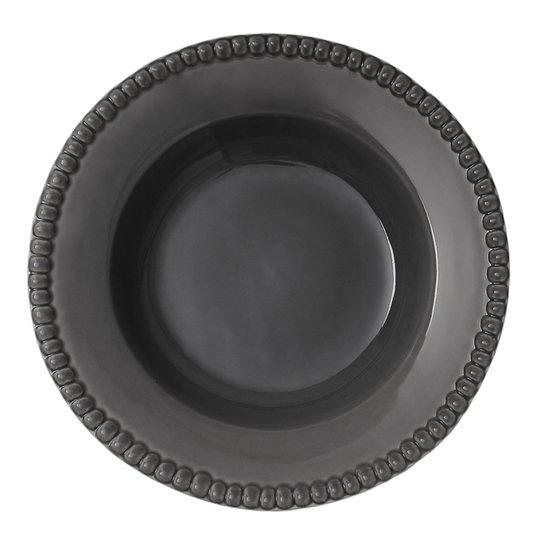 PotteryJo - Daria Tallrik Djup 26 cm Clean grey