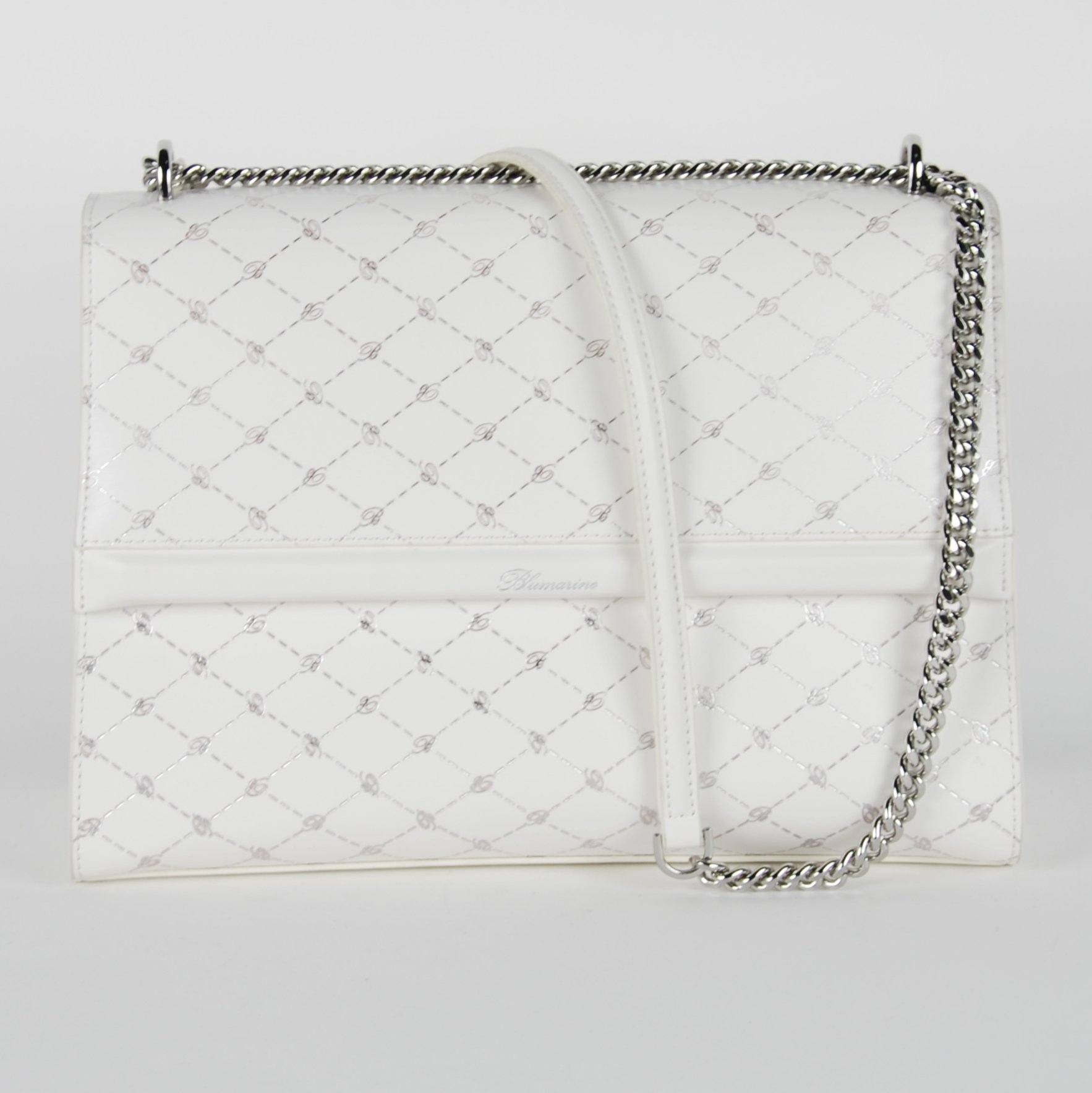 Blumarine Women's Shoulder Bag White BL1421544