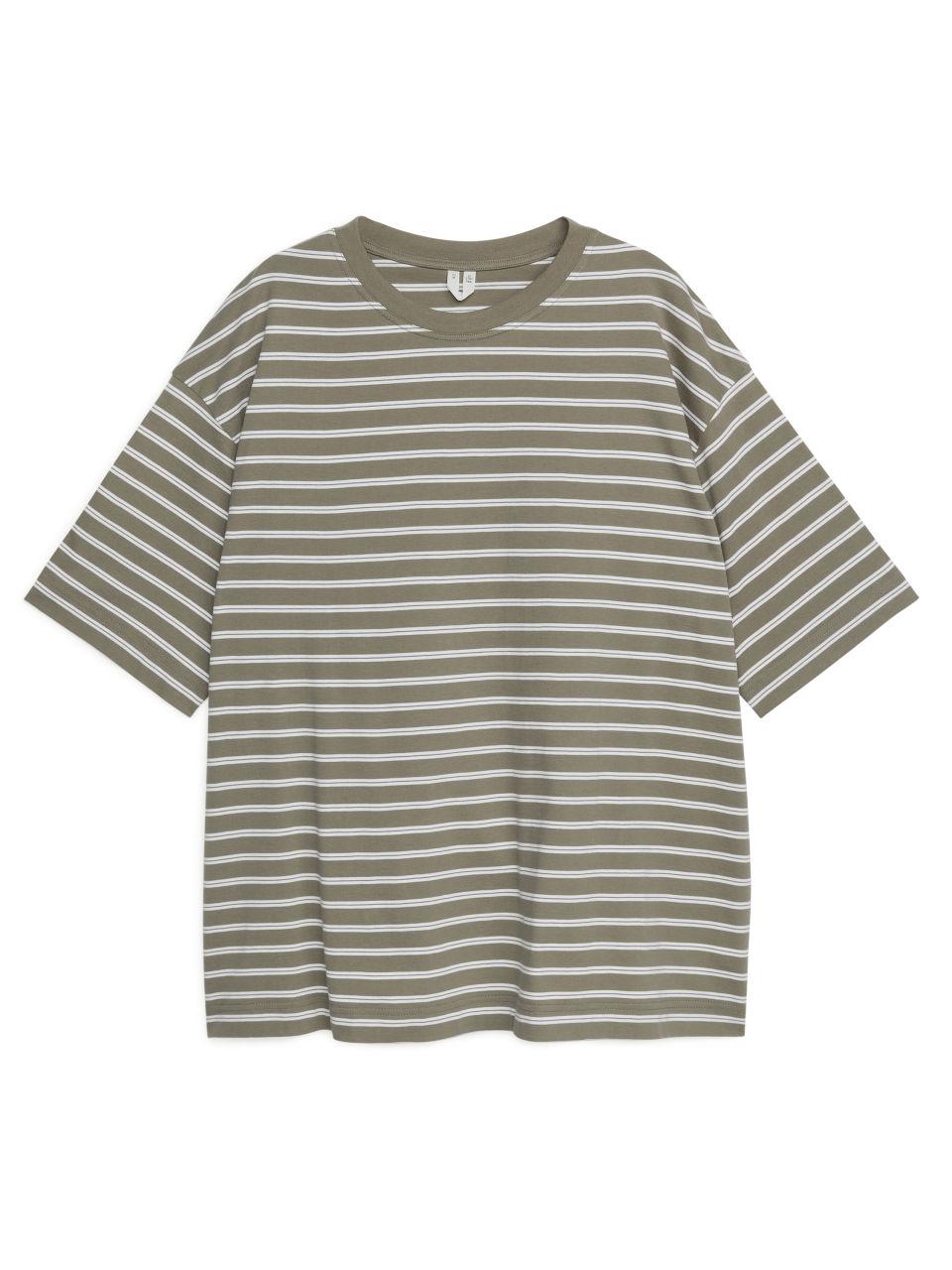 Oversized T-Shirt - Brown