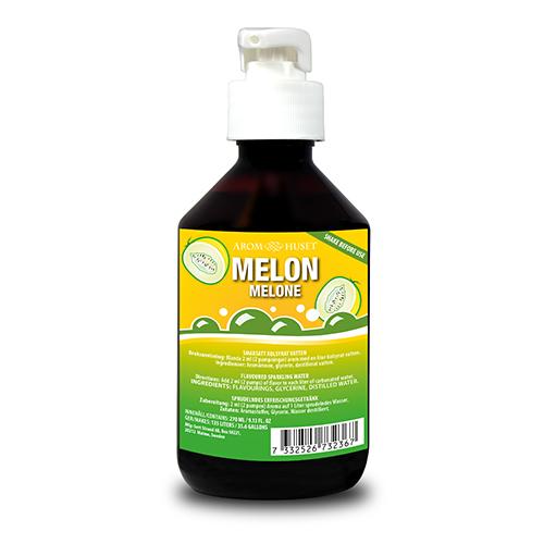 Melon Bordsvattenarom i 270 ml pumpflaska ger 135 liter dryck