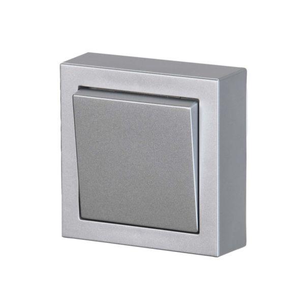 ABB Impressivo Painike 1-napa Alumiini