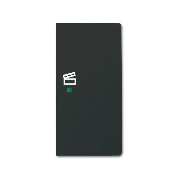 ABB Future Linear 6220-0-0630 Yksiosainen vipupainike tilanneohjaus, musta Oikea