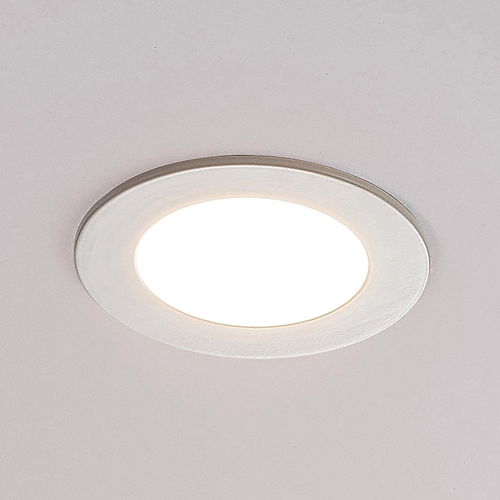 ELC Jupiter LED-downlight, 3-er sett i hvitt