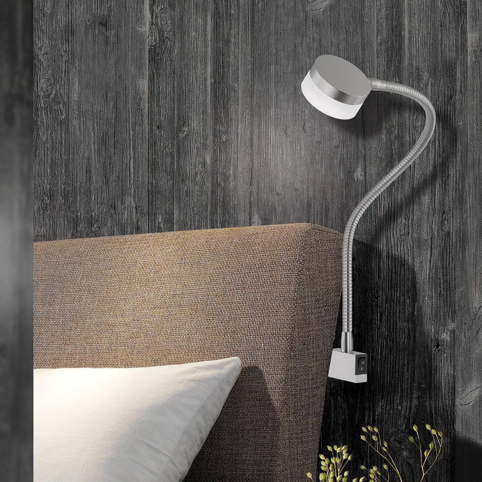 Regulerbar LED-klemmelampe Lug