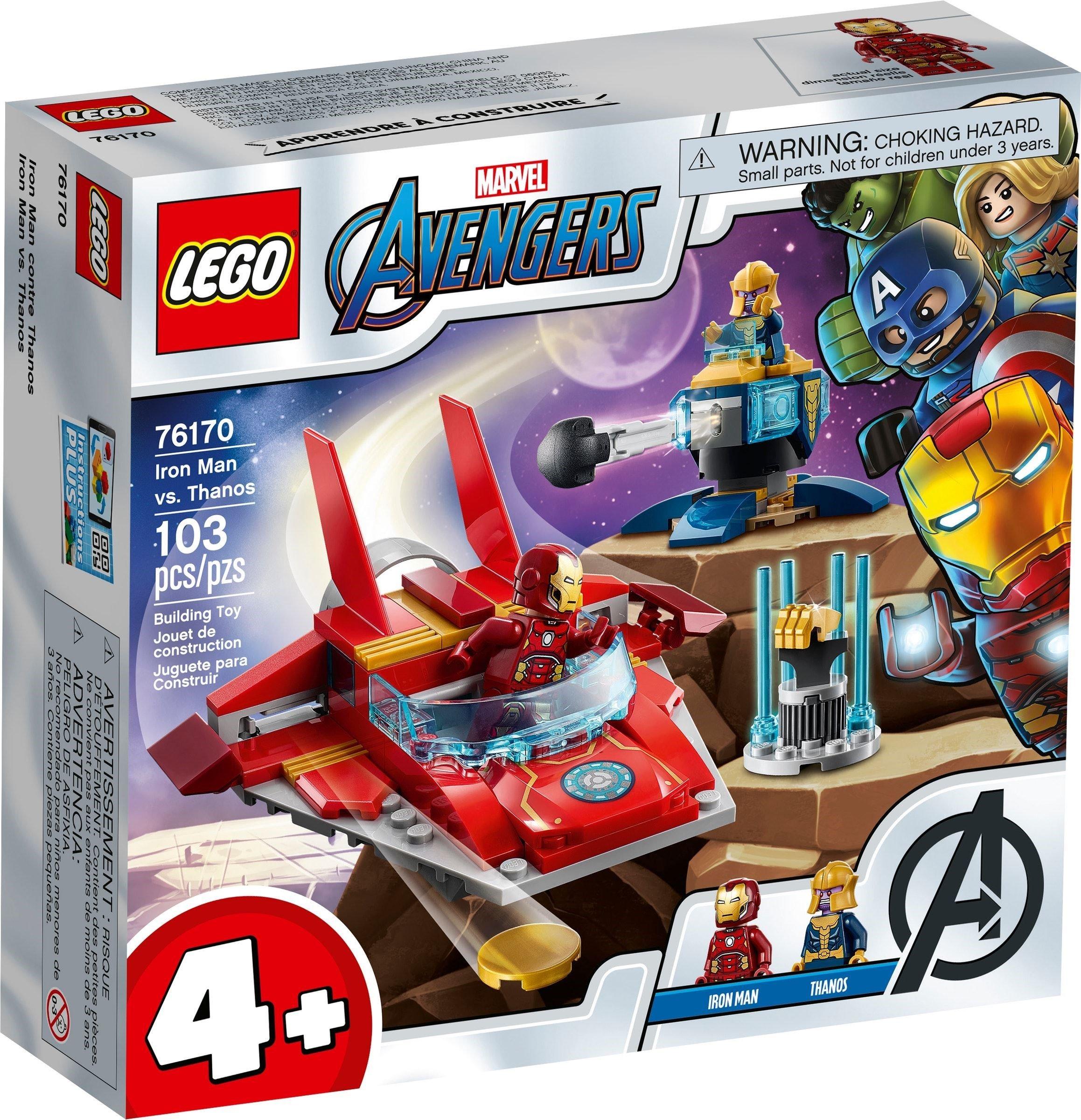 LEGO Super Heroes - Iron Man vs. Thanos (76170)