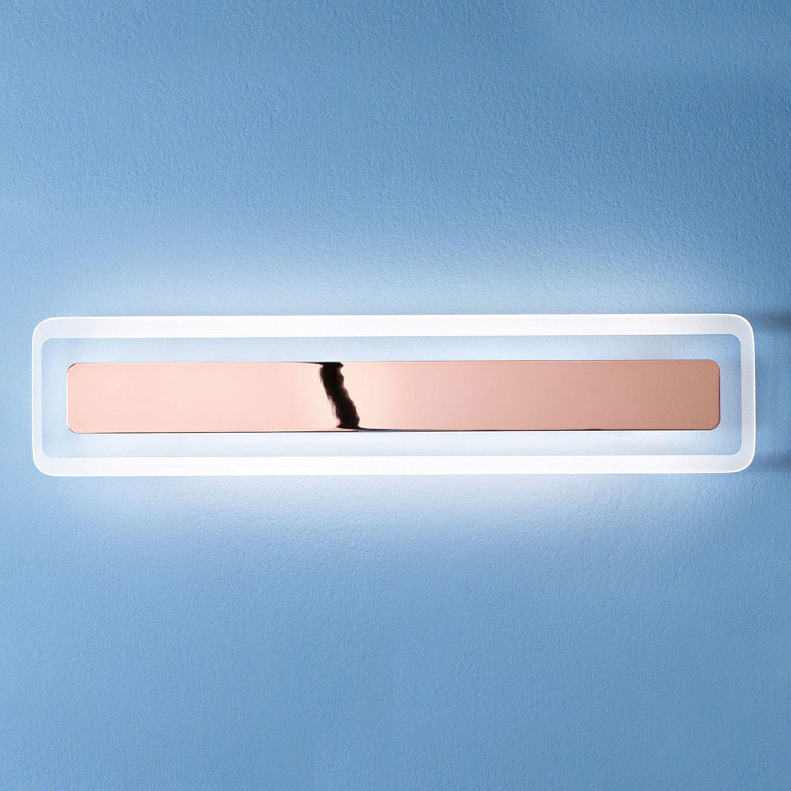 Antille LED-vegglampe kobber 61,4 cm