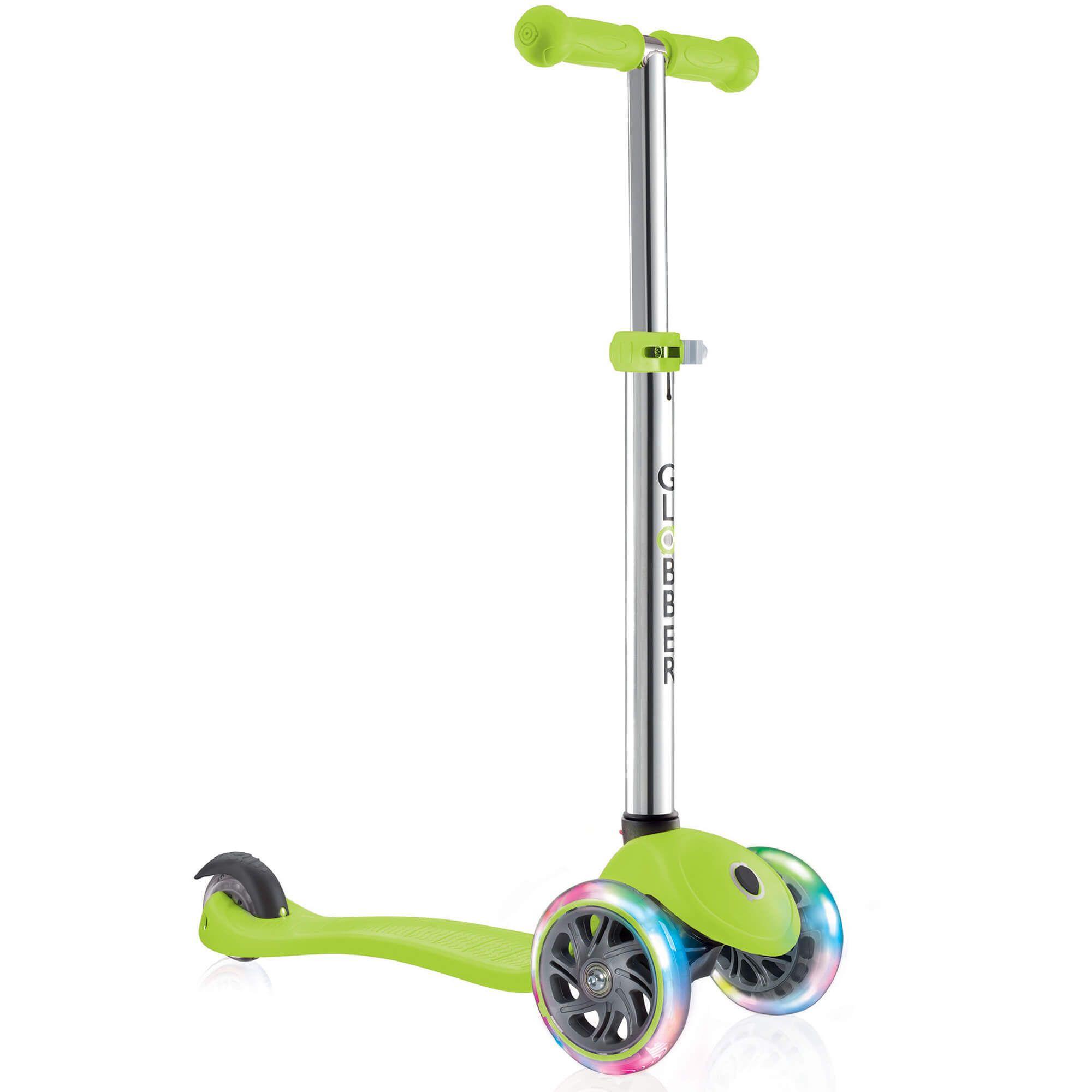 GLOBBER - Scooter - PRIMO LIGHTS V2 - Green