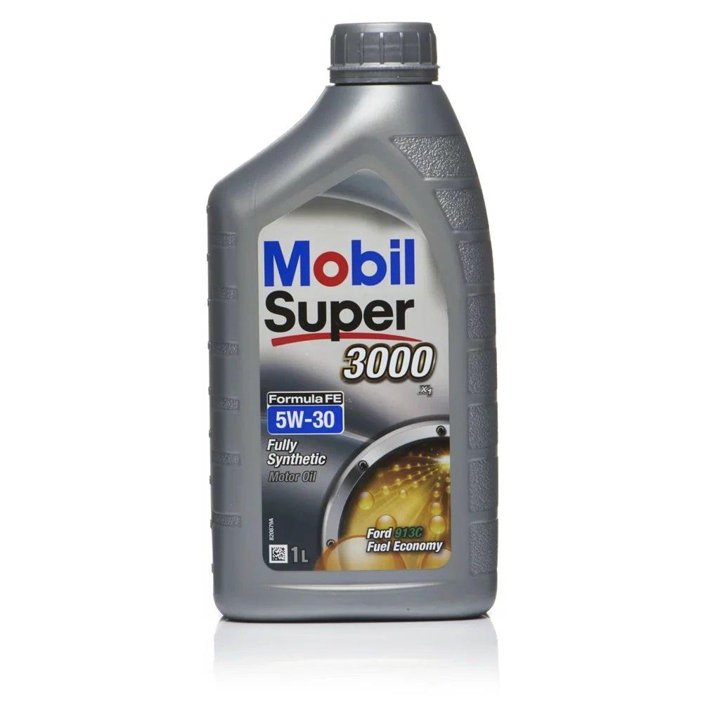 Moottoriöljy MOBIL 5W30 SUPER 3000 FORMULA FE 1L