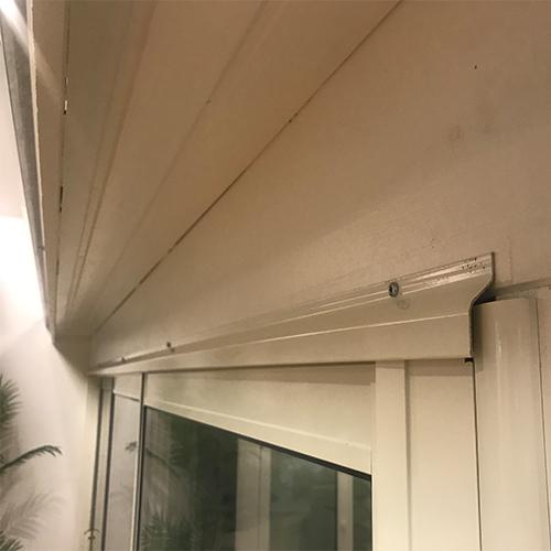 2900-4200 mm Dekklist Hvit 290 cm