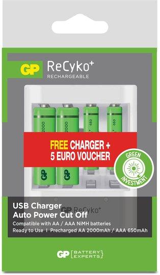 GP Batterier ReCyko Pakke