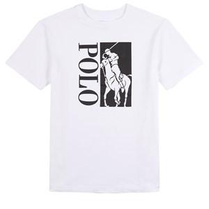 Ralph Lauren Big Pony Logo T-shirt Vit 4 år
