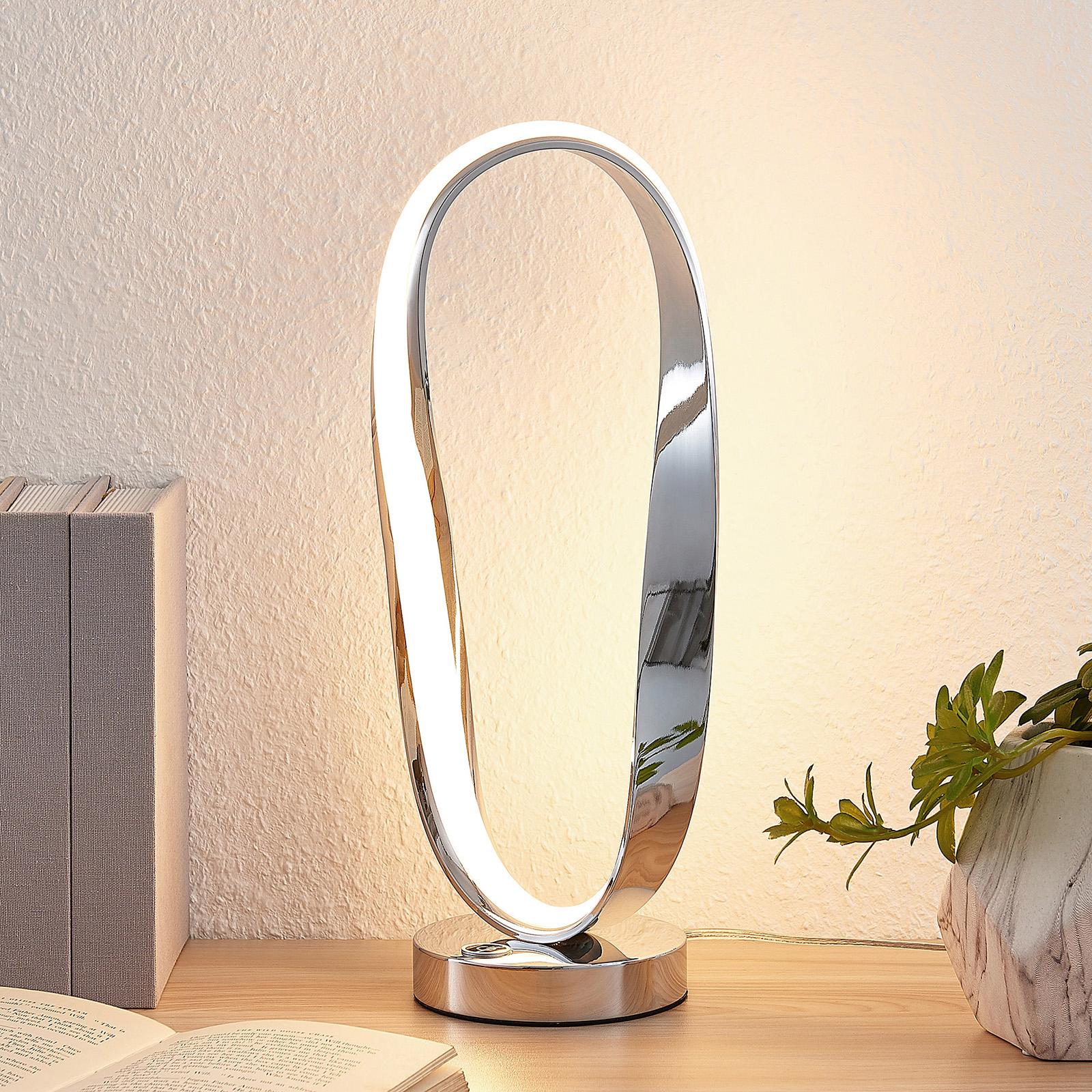 Lucande Xalia -LED-pöytävalaisin