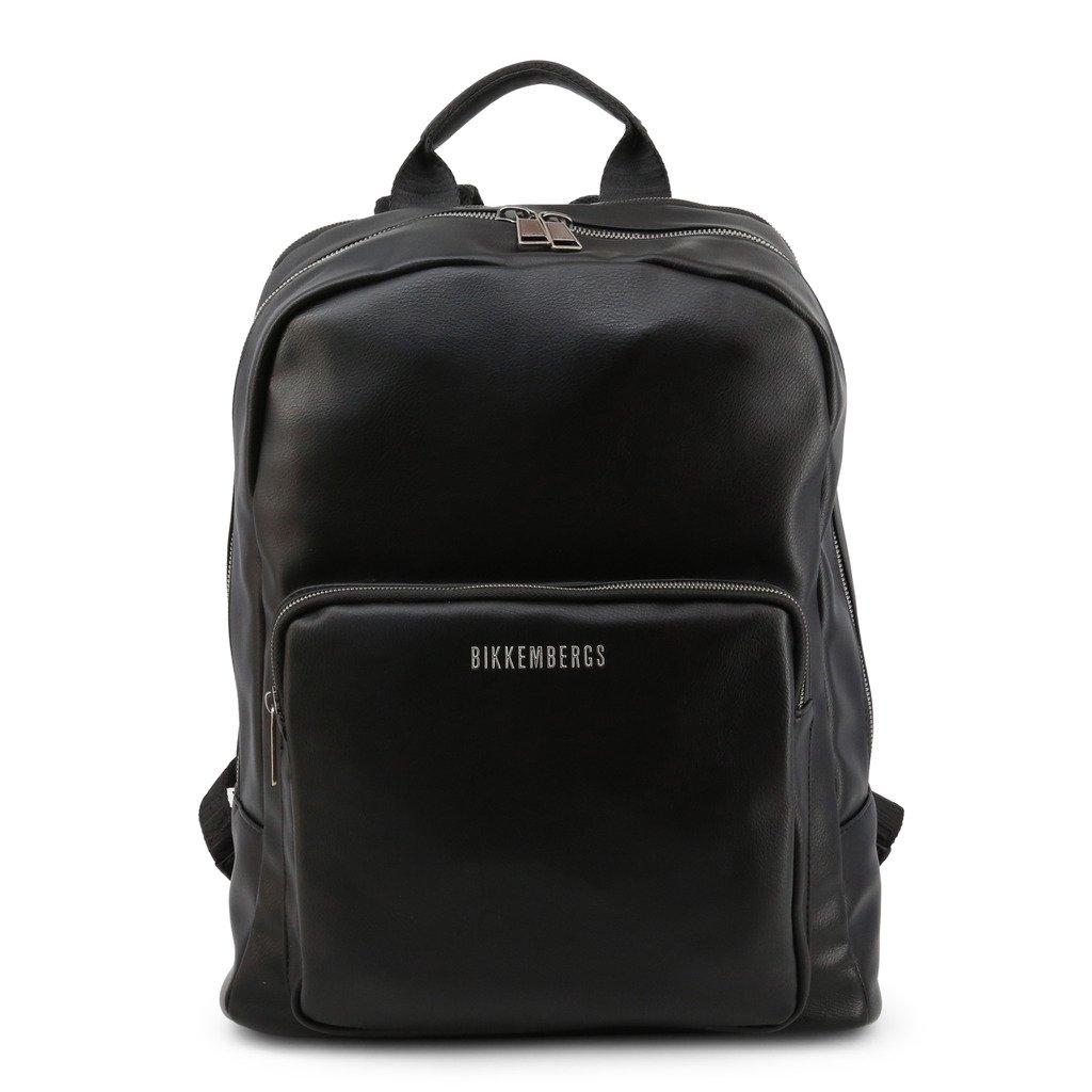 Bikkembergs Men's Backpack Various Colours E2APME210065 - black NOSIZE
