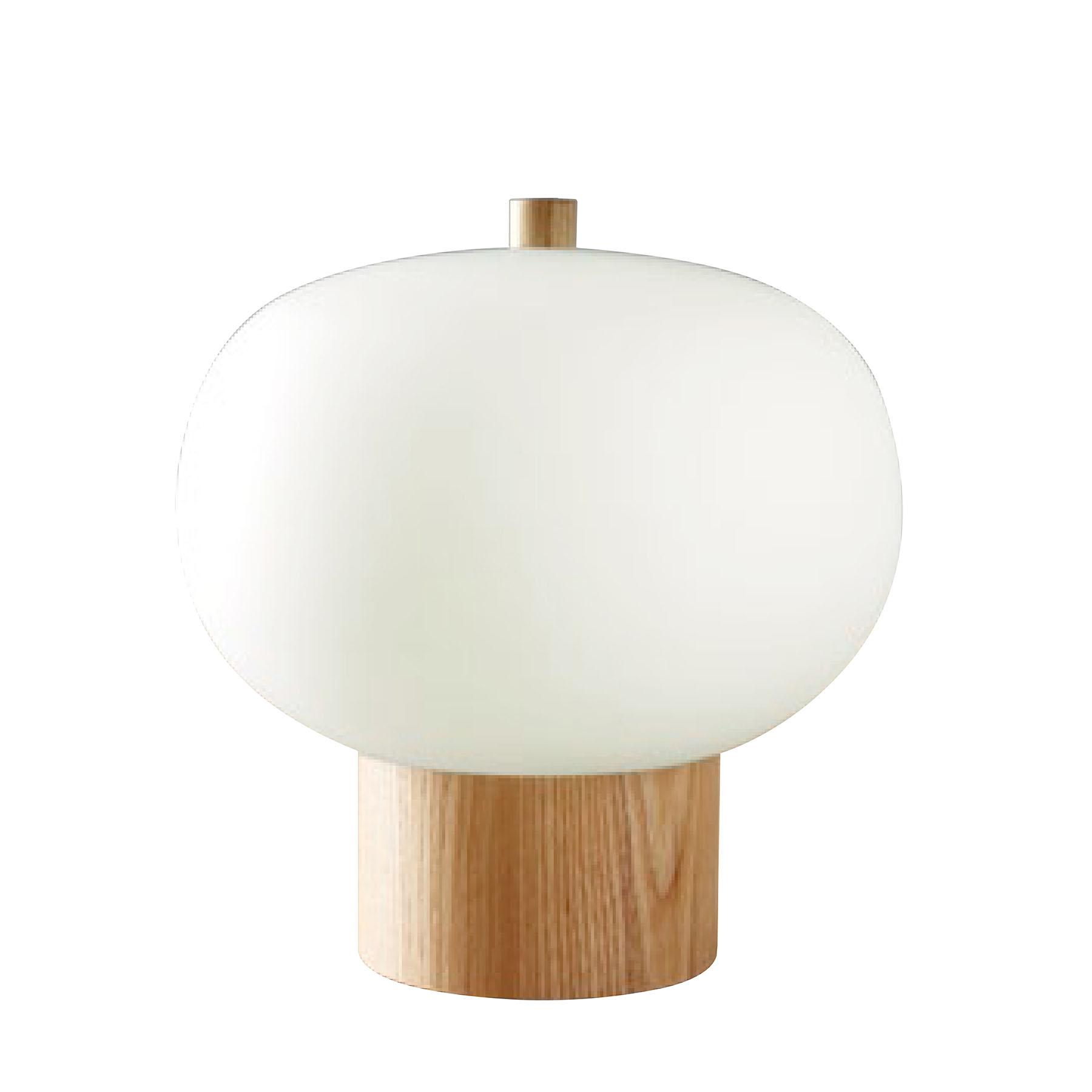 Grok Ilargi-LED-pöytälamppu Ø 24 cm Touchdimmer