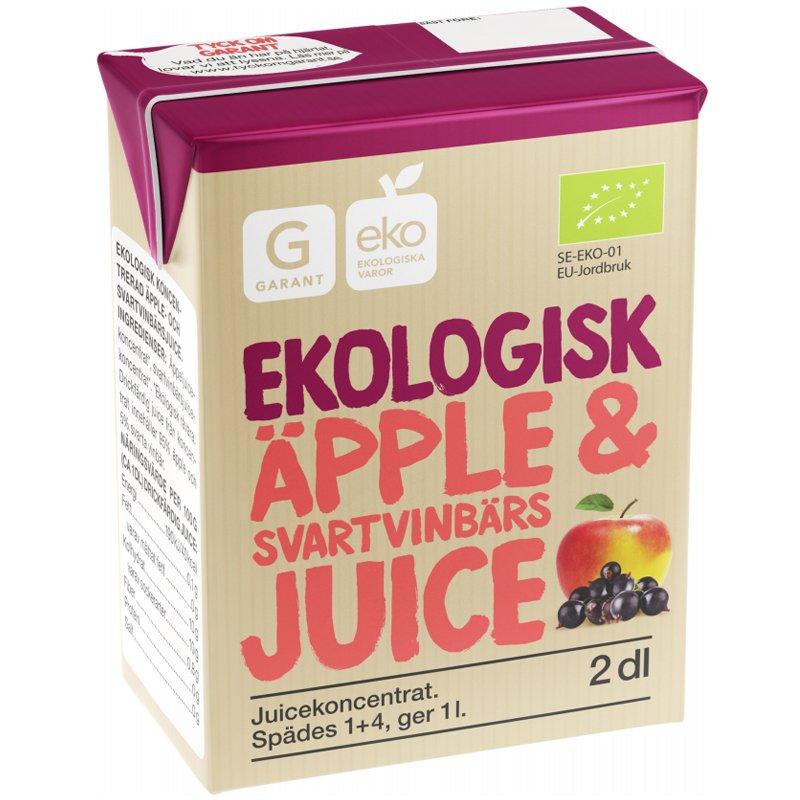 Eko Äpple & Svartvinbärsjuice - 28% rabatt