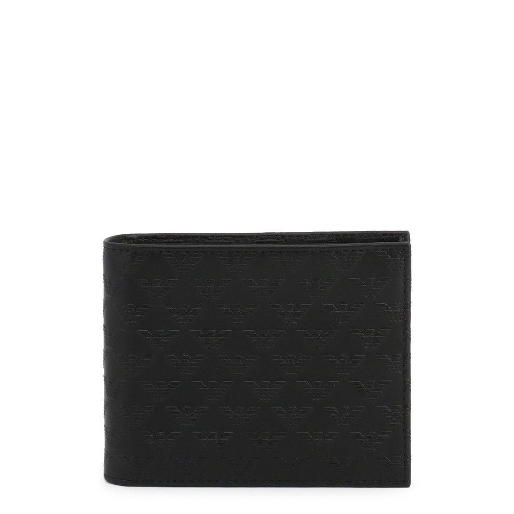 Emporio Armani Men's Wallet Black YEM176_YC043 - black NOSIZE