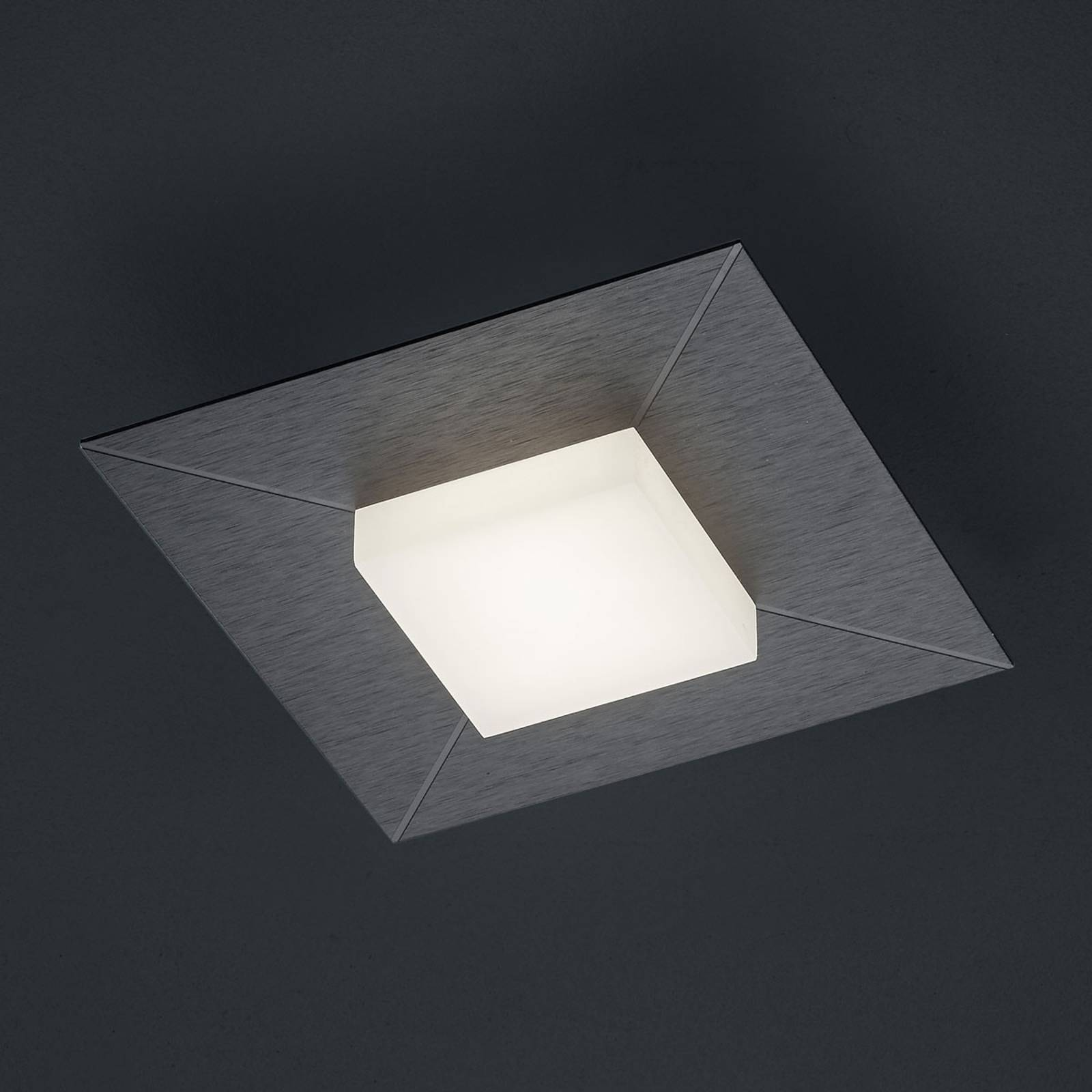 BANKAMP Diamond kattovalo, 17x17 cm, antrasiitti
