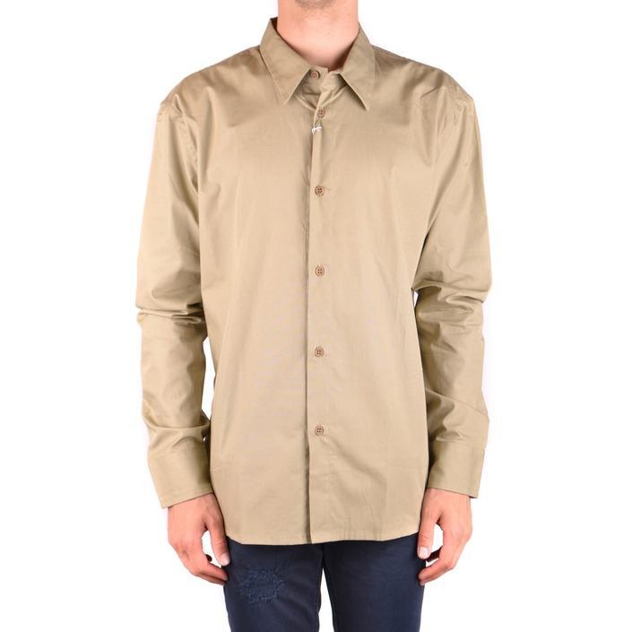 Bikkembergs Men's Shirt Beige 163237 - beige XL