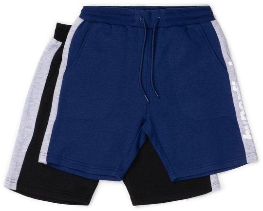 Hyperfied Turn Shorts 2-pack, Black/Black Iris 120