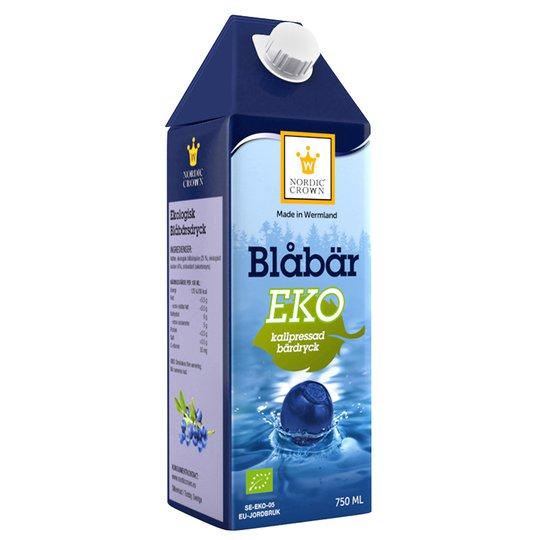 Eko Blåbärsdryck - 40% rabatt