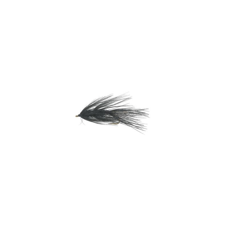 Omø Børsten Black # 6 Kjøp 12 fluer få gratis flueboks