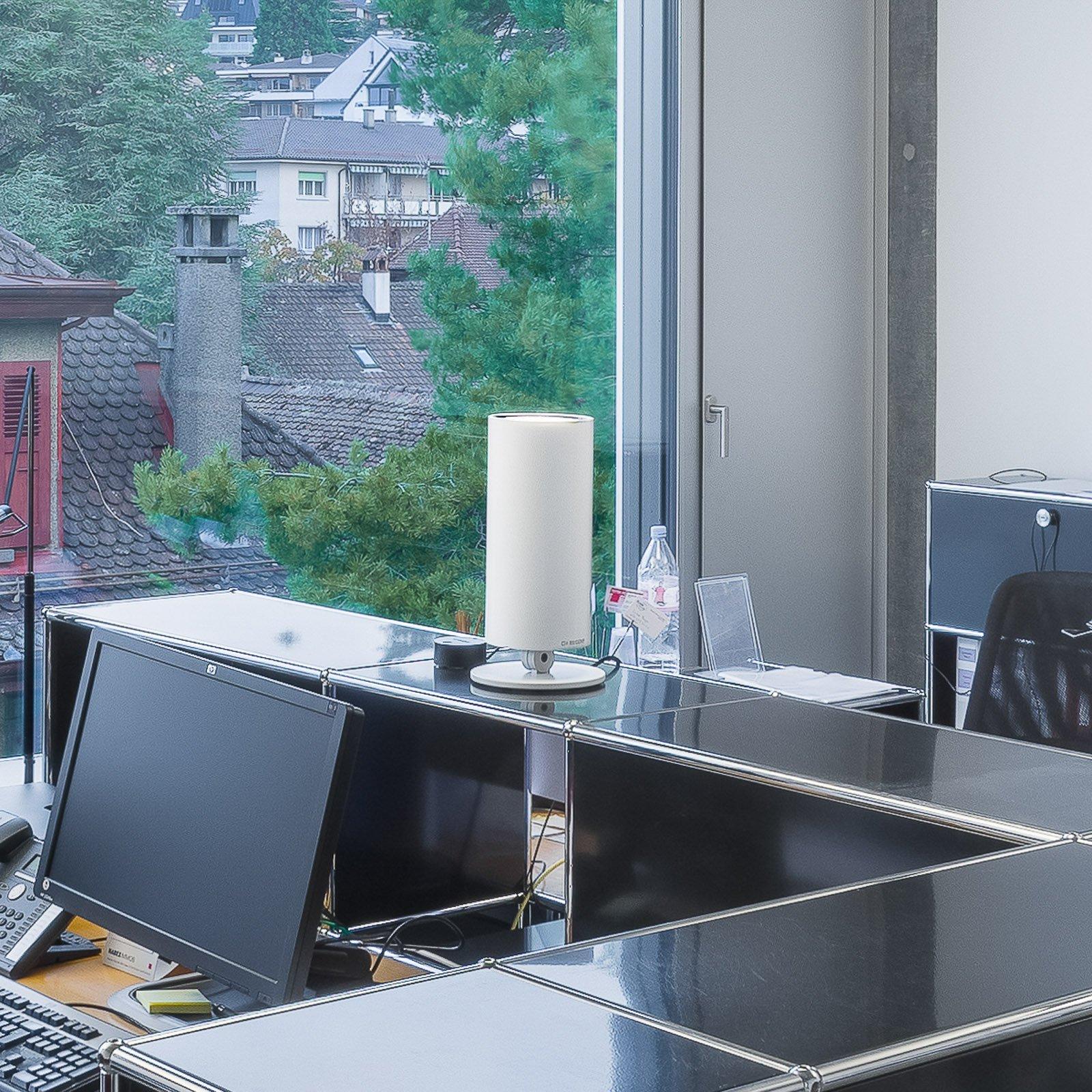 Regent Stream Table bred digital 143W 380 hvit