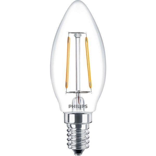 Philips Classic LED Filament LED-valo 2 W, kynttilänmuotoinen