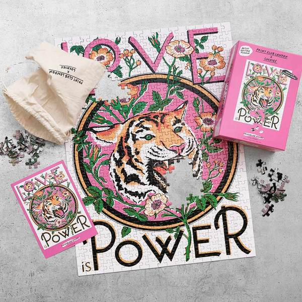 Print Club London x Luckies - Love is Power Puzzle