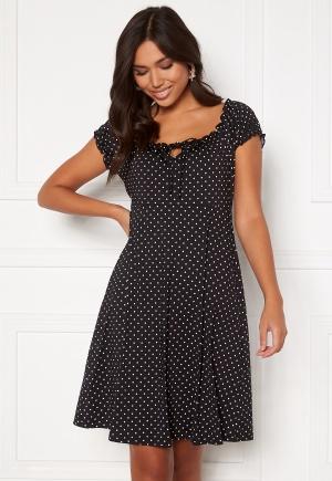 Happy Holly Tessan dress Offwhite / Black 52/54