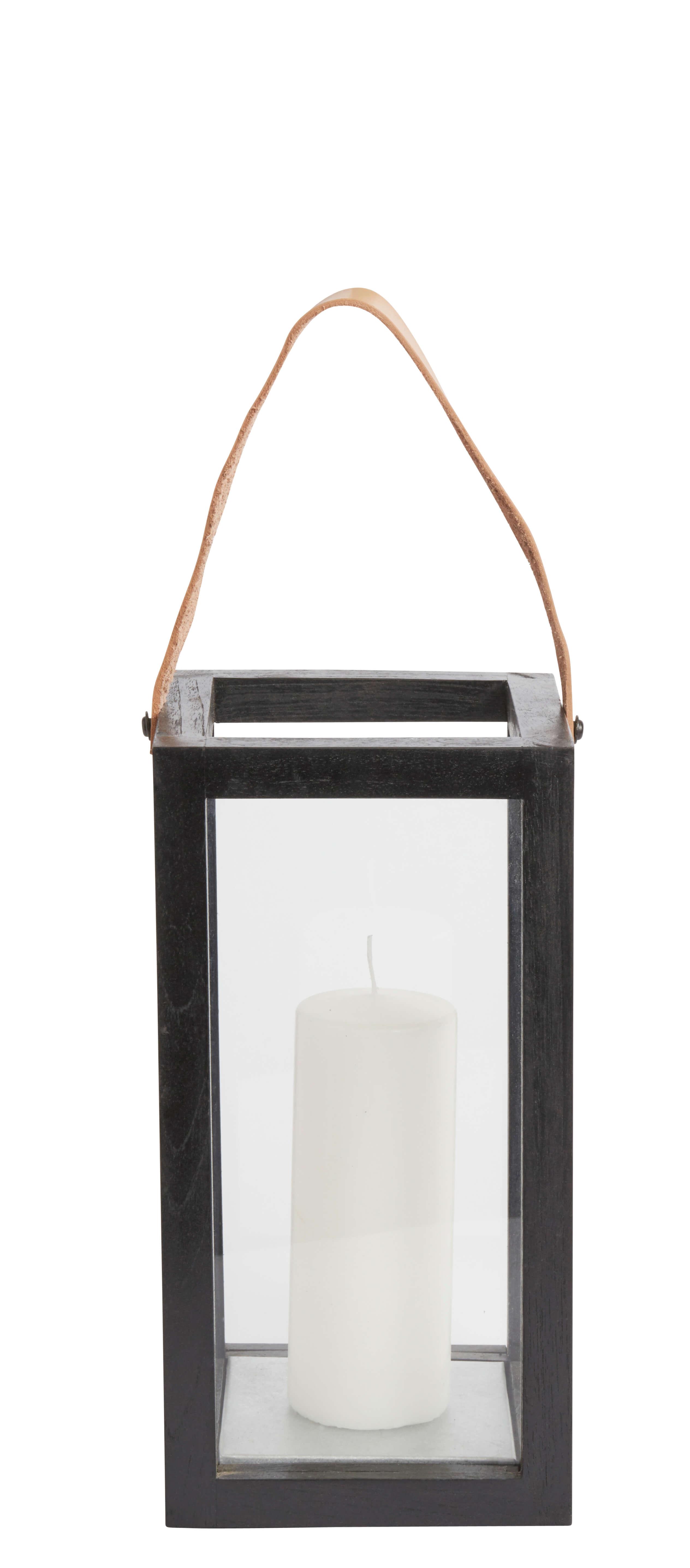 Muubs - Lantern Small - Black Recycled Teak (1121527502)