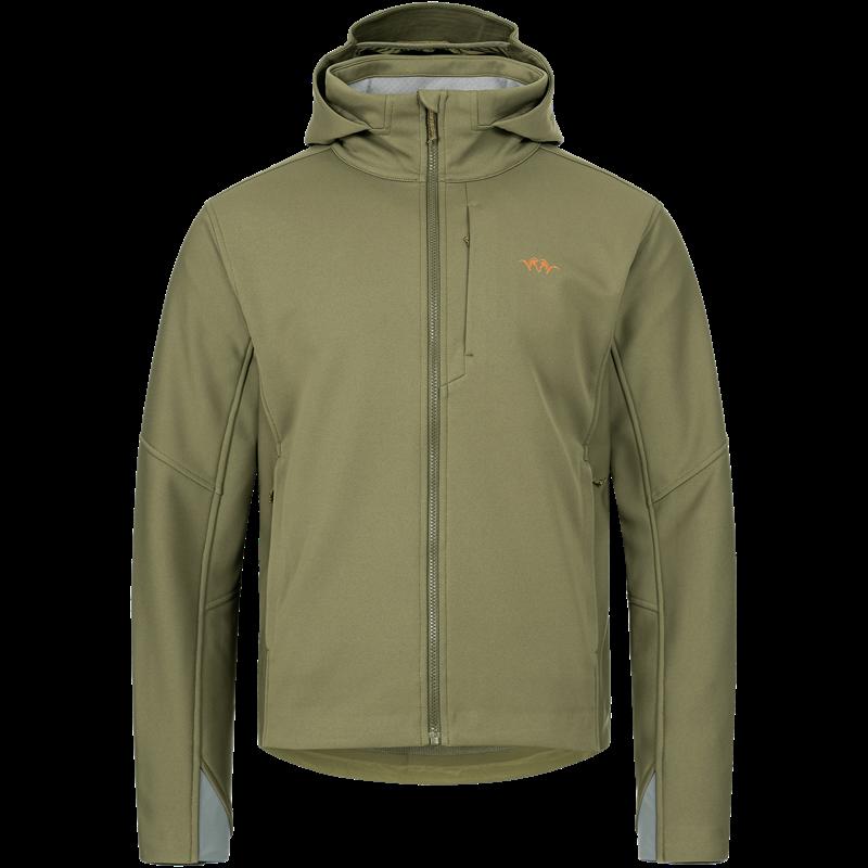 Blaser Men's Tranquility Jacket XXL Camo Lydsvak Softshell jakke