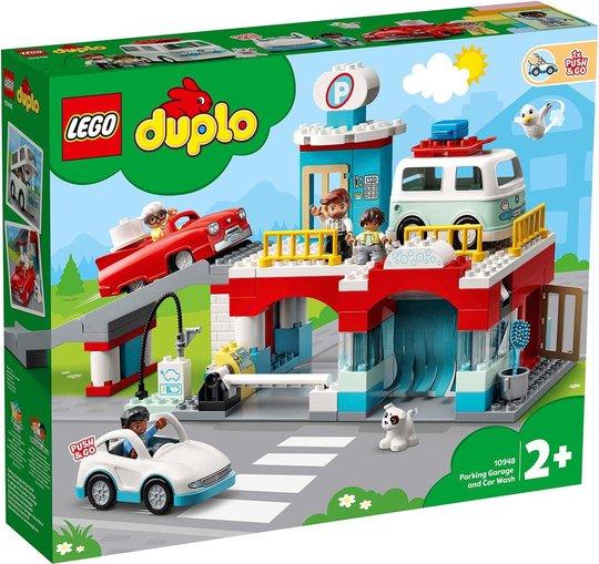 LEGO DUPLO Town 10948 Parkeringshus og Bilvask